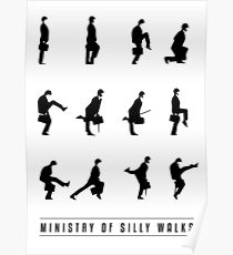 Póster Silly Walks
