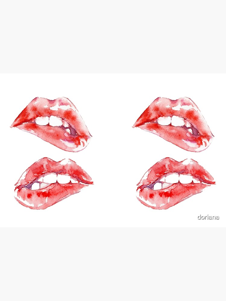 Biting Lips by doriana
