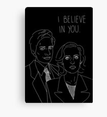 I Believe in You Valentine Canvas Print