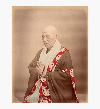 Buddhist priest Photographic Print