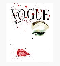 Vogue_1950 Photographic Print