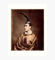 Meiji period japanese prince Art Print