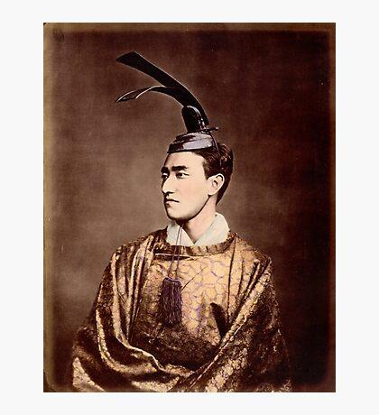 Meiji period japanese prince Photographic Print