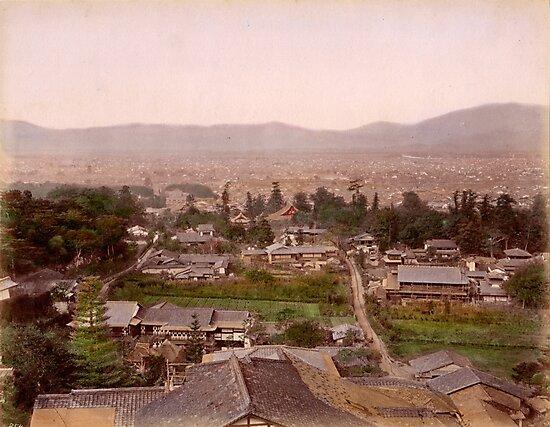 Kyoto, Meiji Period, Japan by Fletchsan