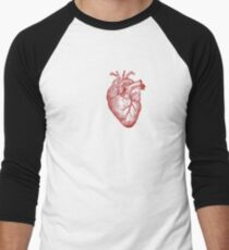 Heart Men's Baseball ¾ T-Shirt