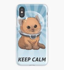 Keep Calm Kitty iPhone Case/Skin