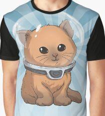 Keep Calm Kitty Graphic T-Shirt