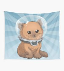 Keep Calm Kitty Wall Tapestry