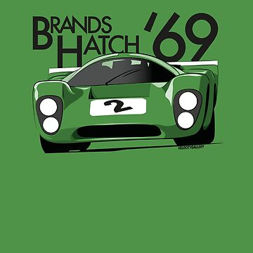 Brands Hatch 1969 Racing car by velocitygallery