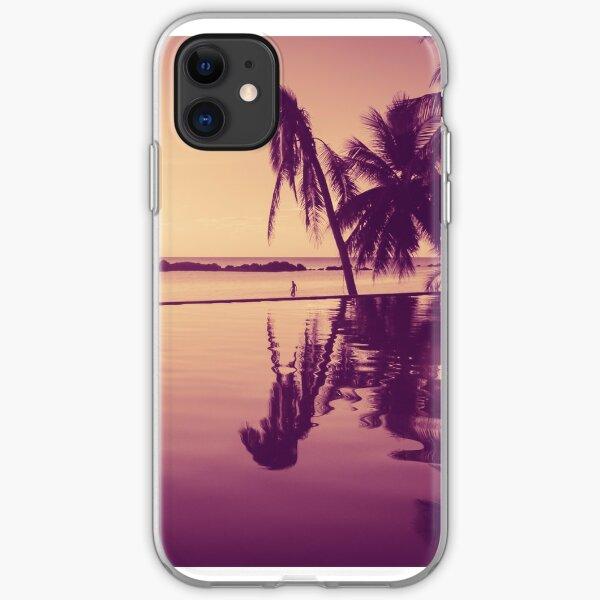 Paradise sunset Thailand iPhone Soft Case