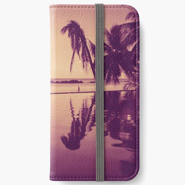 Paradise sunset Thailand iPhone Wallet