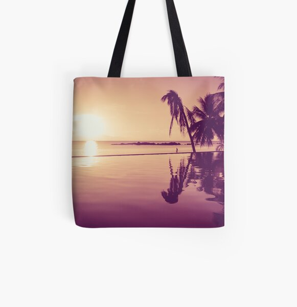 Paradise sunset Thailand All Over Print Tote Bag