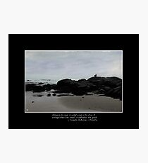 Absence to Love Limited Edition Fine Art Poster Photographic Print