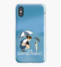 The Cat Returns iPhone Case/Skin