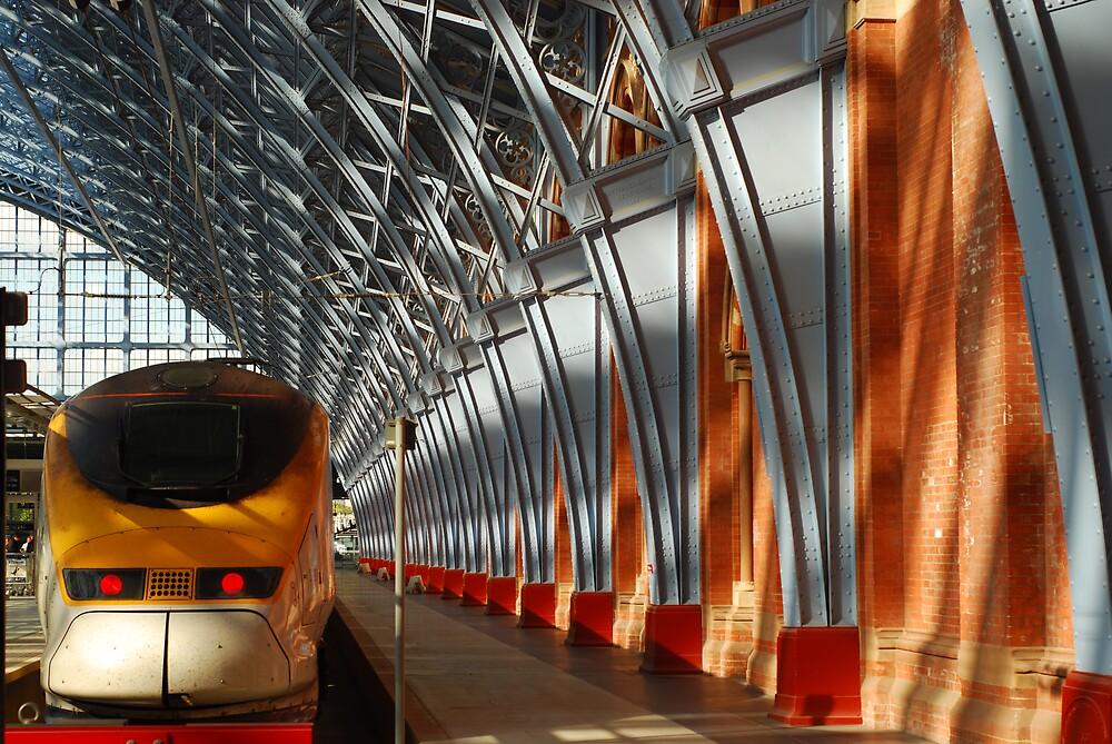 St Pancras Eurostar by Christopher Dunn