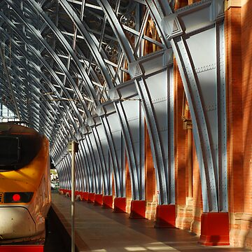 St Pancras Eurostar by crispyfried