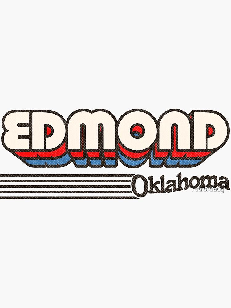 Edmond, Oklahoma | Retro Stripes by retroready