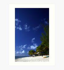 Beach Paradise - Rarotonga, Cook Islands Art Print