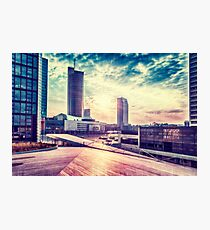 Business sunrise Photographic Print