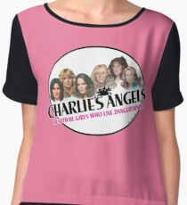 Beautiful Girls who live Dangerously! / All Seasons Chiffon Top