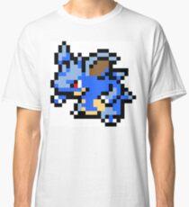 Pokemon 8-Bit Pixel Nidoqueen 031 Classic T-Shirt