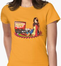 Kylie Minogue - Step Back In Time - Retro Women's Fitted T-Shirt