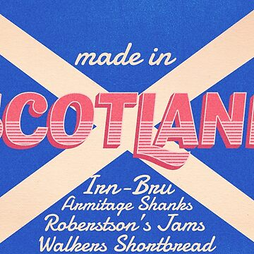 Vintage Made in Scotland Tee by zekret