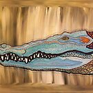 Crocodelic Crocodile by njpunks