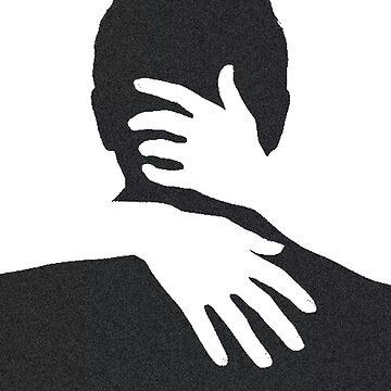 Embrace Darkness Darkness noir cinema thriller hug by GarciaPayan