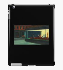 AMERICAN ARTIST,  Edward Hopper, Nighthawks, 1942. iPad Case/Skin