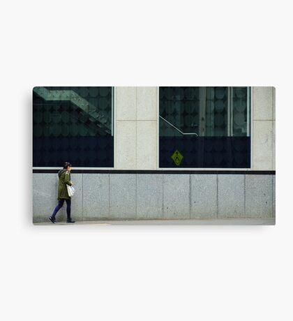 Pedestrians Please Levitate Canvas Print