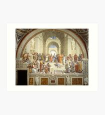 The School of Athens, Italian Renaissance, artist, Raphael Art Print