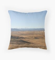 A Browner View Throw Pillow