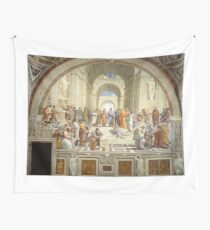 The School of Athens, Italian Renaissance, artist, Raphael Wall Tapestry