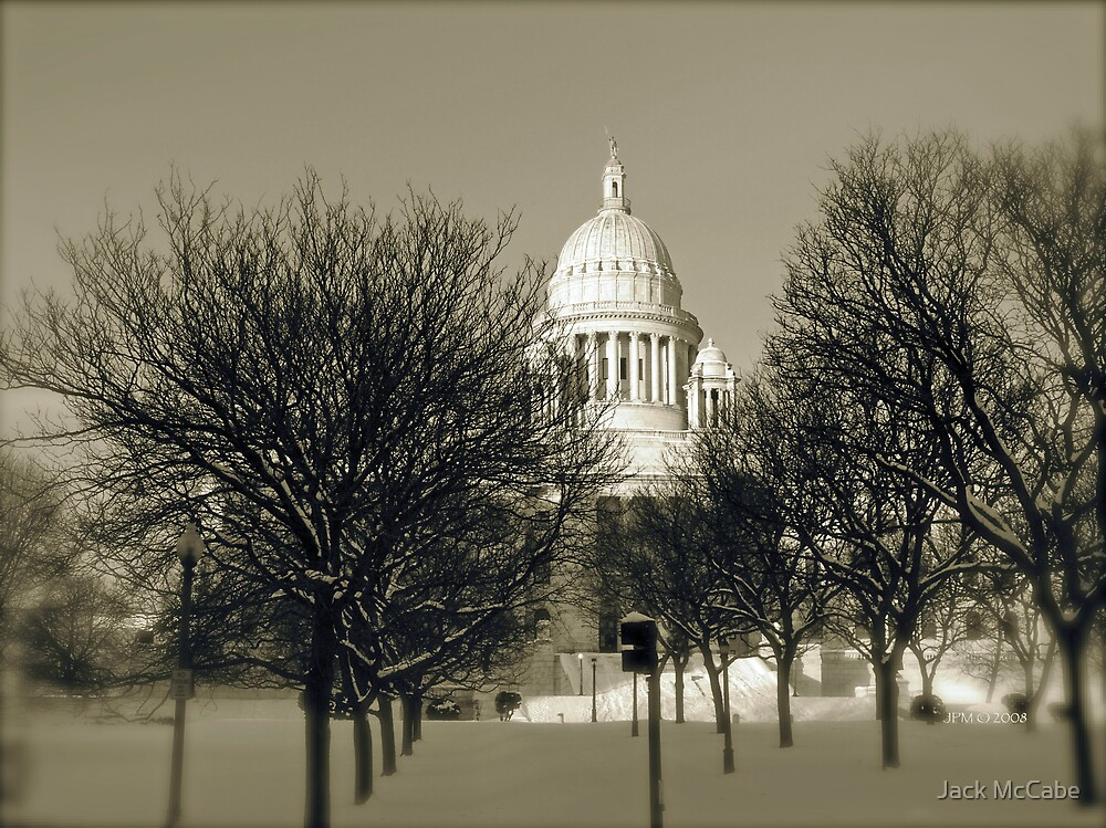 The Rhode Island State House in Providence © 2008  *featured top 3 of 21 by Jack McCabe