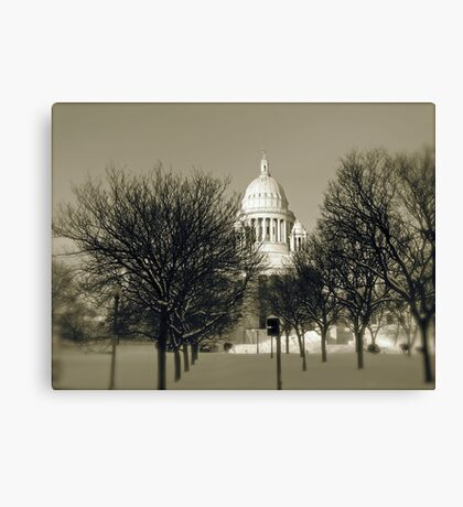 The Rhode Island State House in Providence © 2008  *featured top 3 of 21 Canvas Print
