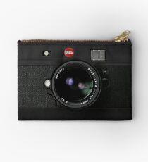 Classic Retro Old Vintage Black doff Camera Studio Pouch