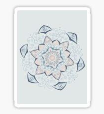 Jin Blue Mandala  Sticker