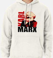 Kommunistisches Karl Marx Porträt Hoodie