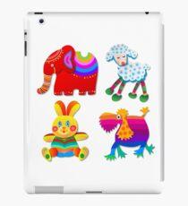 Four funny toys iPad Case/Skin