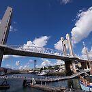 Hafen von Brest von Jean-Luc Rollier