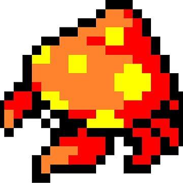 Pokemon 8-Bit Pixel Parasect 047 by slr06002