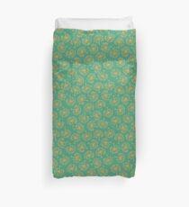Boho Emerald Floral Bettbezug