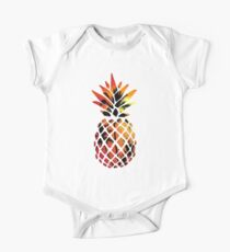 Tropical Sunset Pineapple One Piece - Short Sleeve