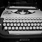 Typewriter by Christian  Zammit