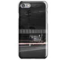 City car motion blur iPhone Case/Skin