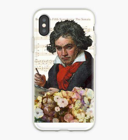Ludwig von Beethoven Grunged III iPhone Case