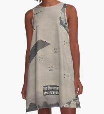 Fighter Flight A-Line Dress