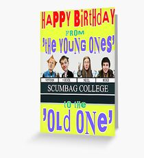 Happy Birthday from the Young Ones Greeting Card