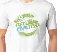 Get Civilized! by TeeSnaps Unisex T-Shirt